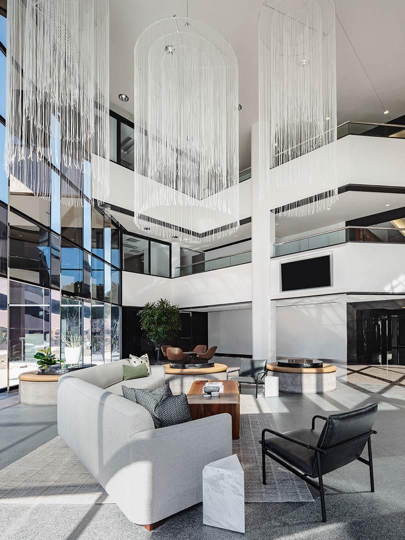 Phoenix AZ commercial lobby design
