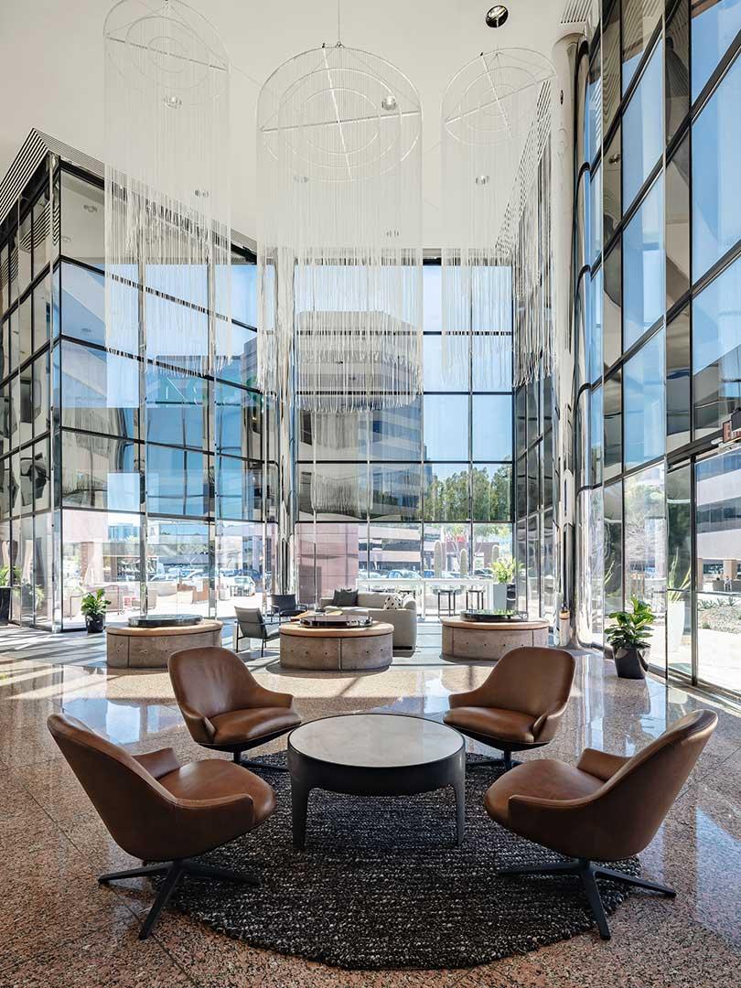 leading edge commercial interior design