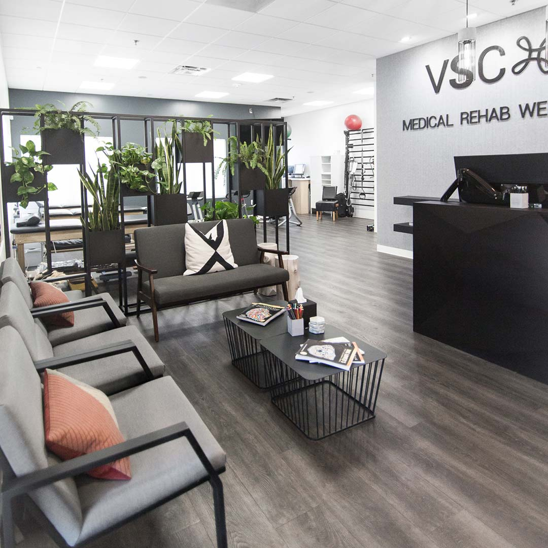 Valley Spinal Clinic medical practice interior design by EdgeQuarters