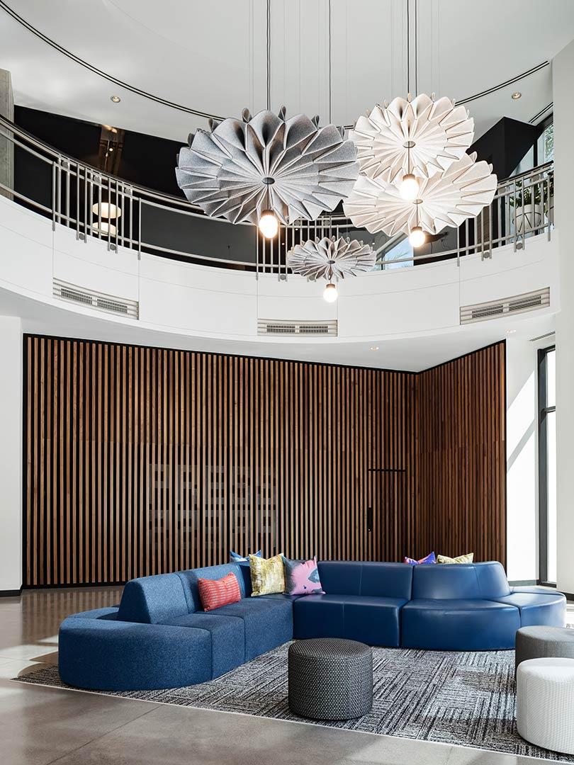 phoenix 200 east van buren 200EVB edgequarters lobby design